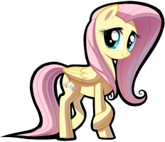 Super Fluttershy by PalaceOfChairs