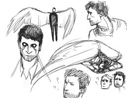 cas sketches by Accolay