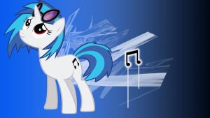 Vinyl Scratch by Borkky