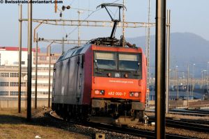 SBB Re 482 000-7 by SwissTrain