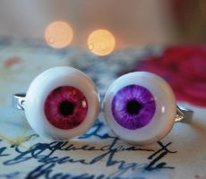 Ocular's Eyeball Rings by OcularFracture