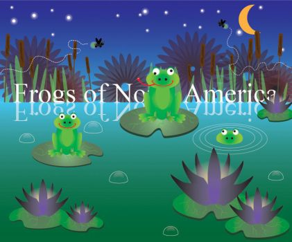 Frogs of North America by goth83punk