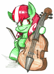 Legato and Double Bass by Jusu-Tengu