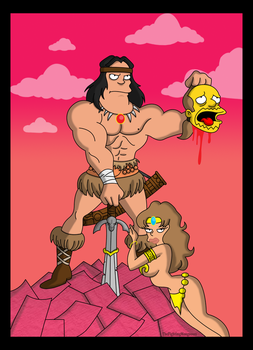 Conan the Barbarian by TheFightingMongooses