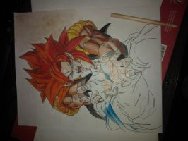 Gogeta SSJ4 2 by spartanforever2000