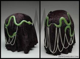 Medusa Headdress by JMWJewelry