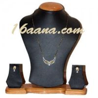 Buy Flower Necklaces with Earrings at Lowest Price by satyakanta