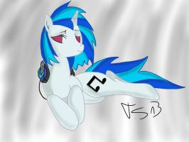 Vinyl Scratch by cloudcore