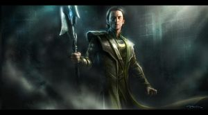 The Avengers- Loki Arrival 03 by andyparkart