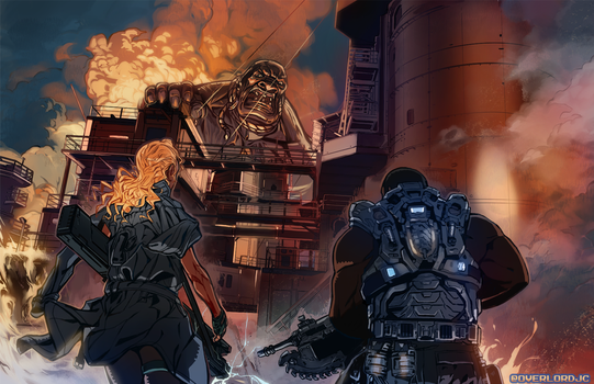 Commission Work: MGS_WILL by OverlordJC
