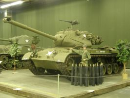 M47 Patton Angle by PanzerschreckLeopard