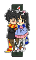 Harry and Cho by kiimcakes