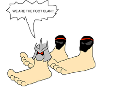 The Foot Clan by Scurvypiratehog