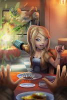 Smash Date:  A Date With Samus by BryanHeemskerk