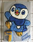 Piplup Cake by thatonegrl