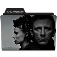 The Girl with the Dragon Tattoo Folder Icon by efest