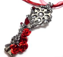 Beauty Key Pendant, updated by sojourncuriosities