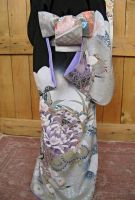 BJD kimono, The Beauty of Pattern by InarisansCrafts