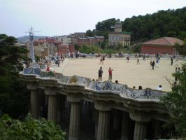Park Guell 2 by IvyI