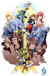 Kingdom Hearts 10th Anniversary Tribute by Kanokawa