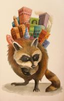 Raccoon Borough (Living Foundations Series) by jessicalainemorris