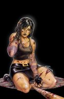 Hack/Slash Cover B  Issue #19 by alucard3999
