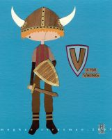 V is for Viking by renton1313