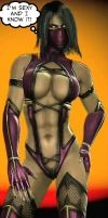 Mileena's Sexy and she knows it by UndeadNinja421
