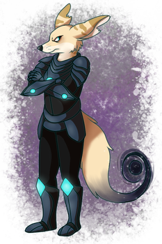space furry by kangaloon