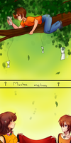 C HB: Mision Especial Hermes everywhere by kittyshadow