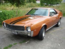 My 1969 AMC AMX by skphile