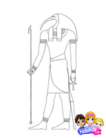 Thoth by Writer-Colorer