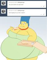 Pizza Marge by TubbyToon