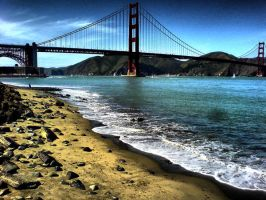 Touristic Photo of Golden Gate by morale
