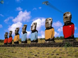 Moai Trek by farstar09