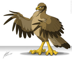 A. Peagle by JackHCrow