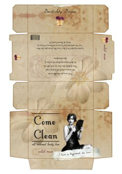 Come Clean: Soap mock-up by ALFitz