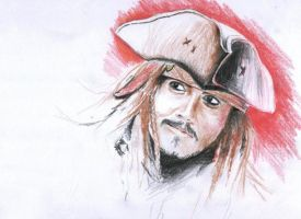 Cpt. Jack Sparrow by gabor5555