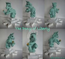 My little Pony Custom Pony of Liberty by BerryMouse