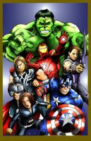 The avengers by richy-richy