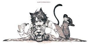 SH2-Cat!Holmes by Athew