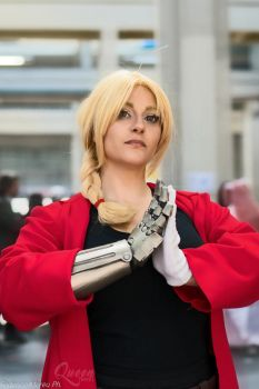 Edward Elric - Torino Comics 2017 by QueenMaudit