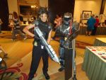 AFO 2011- Halo FF7 crossover by pgw-Chaos