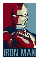 Iron Man Campaign Poster by hewtab