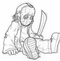 Baby Jason by AstroZerk