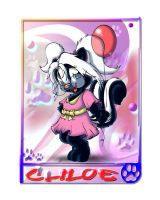 Chloe Skunk Tag by Tavi-Munk