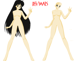 Sailor Mars Base by angelwolfchris