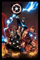 Avengers Assemble! by JackLavy
