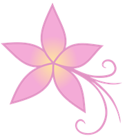 Plumeria cutie mark by The-Smiling-Pony