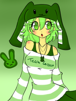 Green with envy by Otakucouture